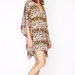 This cropped caftan has a definite Mrs. Robinson feel, and that's a good thing.