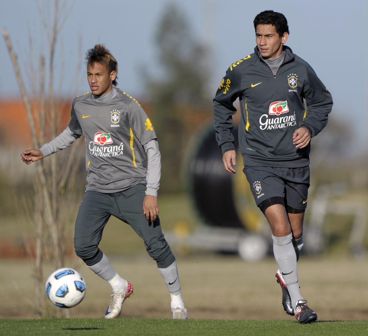 Brazil's midfielder Paulo Henrique Ganso