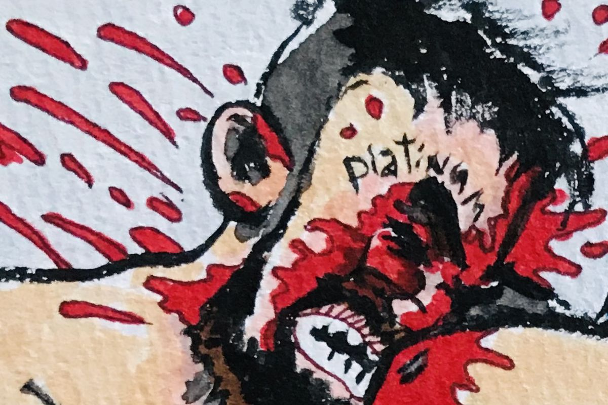 MMA SQUARED: Mike Perry sacrificed his nose for our entertainment