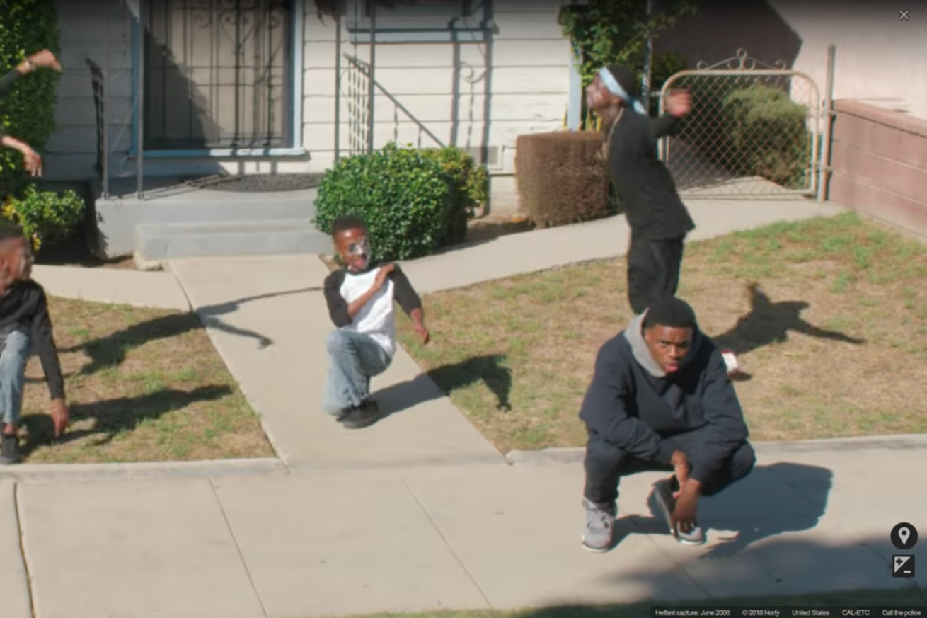 vince staples makes another dope video this time in google maps