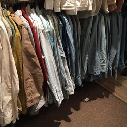 Shirts, $40