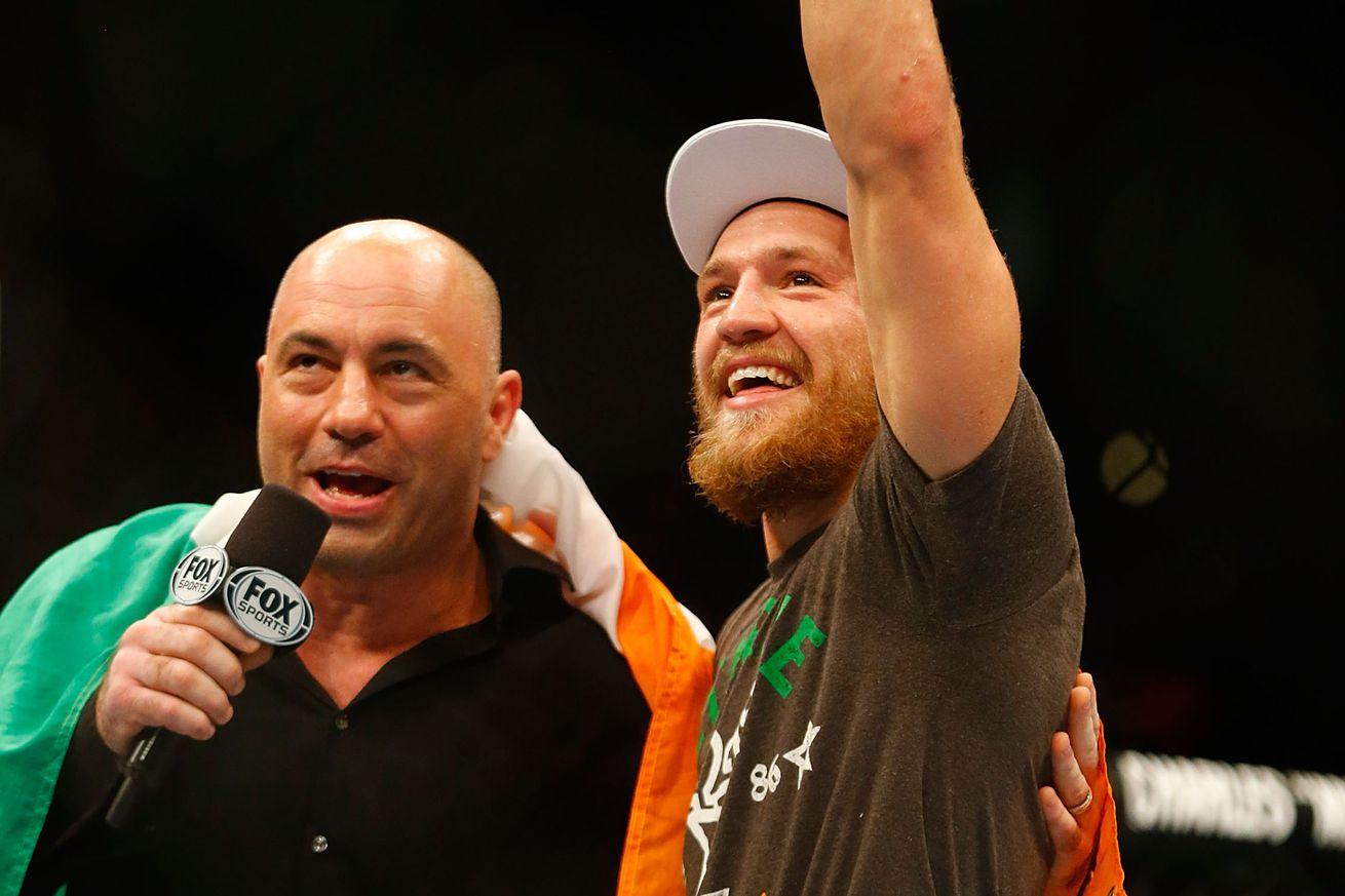 "community news, Midnight Mania! Joe Rogan: McGregor would be a ""god damn folk hero"" for head kicking Mayweather"