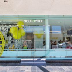 """Start your day with a morning sweat sesh at <a href=""""http://www.soulcycle.com"""">SoulCycle</a> (9465 Wilshire Blvd) at the corner of S Beverly Drive and Wilshire. There's a reason why this <a href=""""http://la.racked.com/archives/2014/03/07/pedal_and_sweat_ra"""