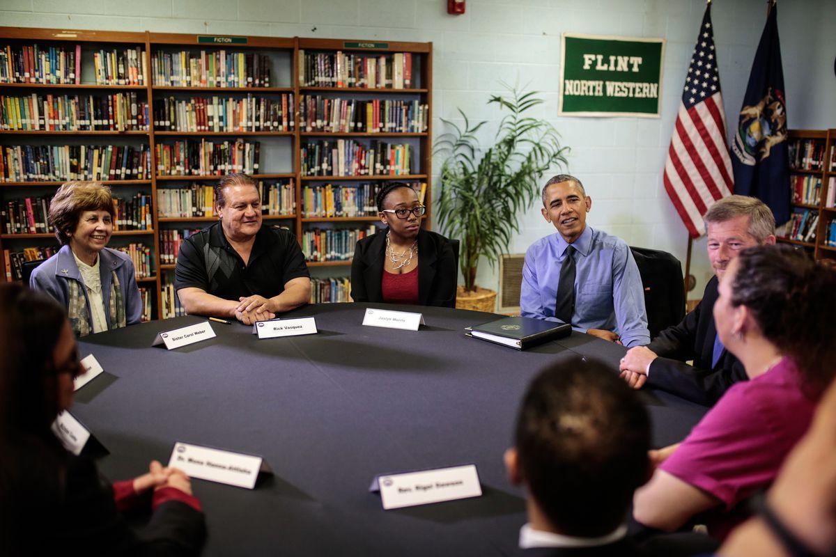 News: President Obama visits Flint