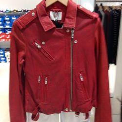 Iro leather jacket, $380 (originally $1,260)