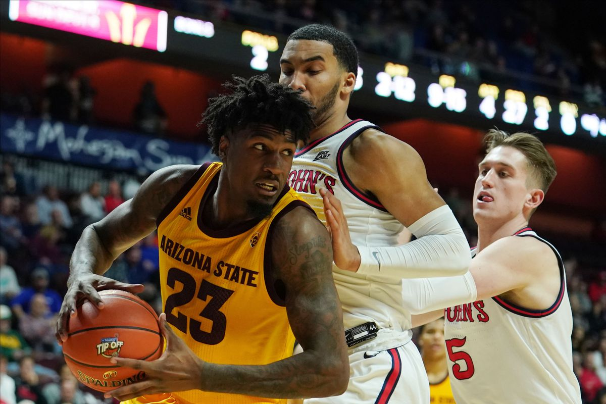 NCAA Basketball: St. John at Arizona State