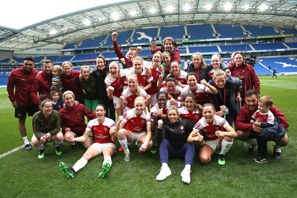 Arsenal Scoop Wsl Title In Anti Fairytale All For Xi