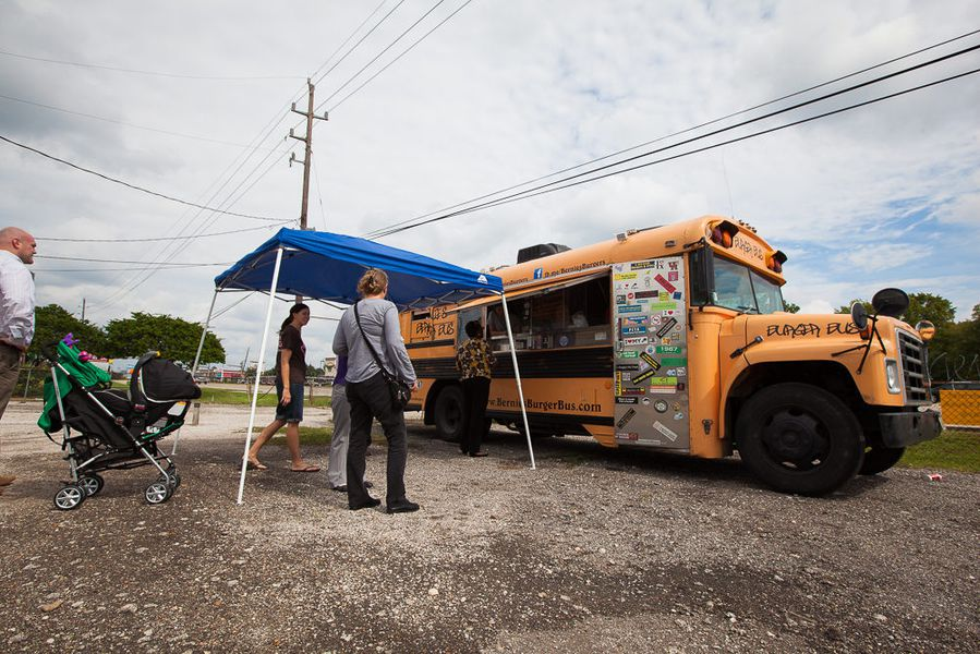 Houston Food Truck Park Highway
