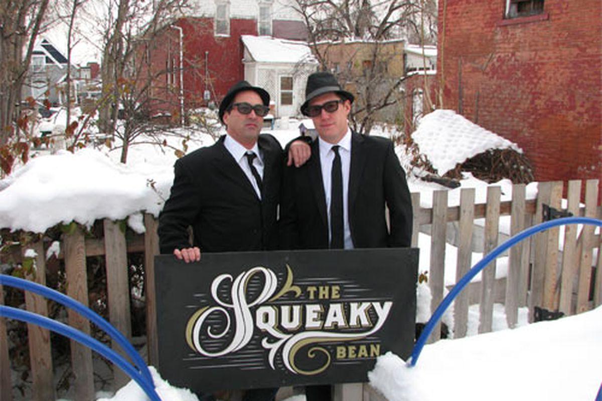 Johnny Ballen and Max MacKissock