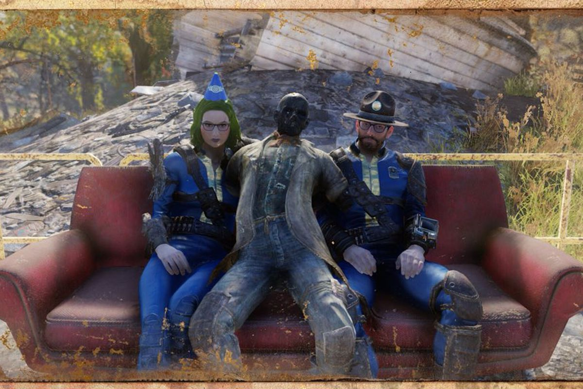 Fallout 76 Has Npcs They Re Just All Dead Polygon