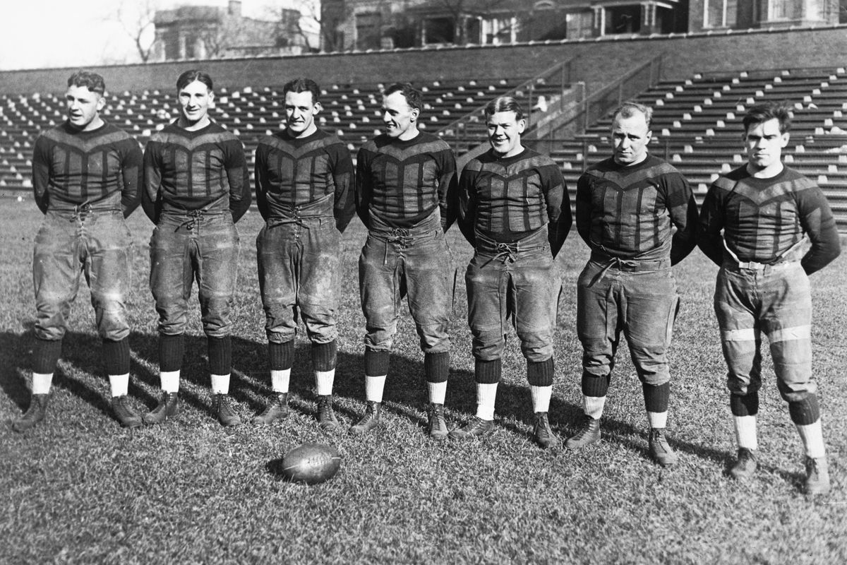 Red Grange and his Teammates