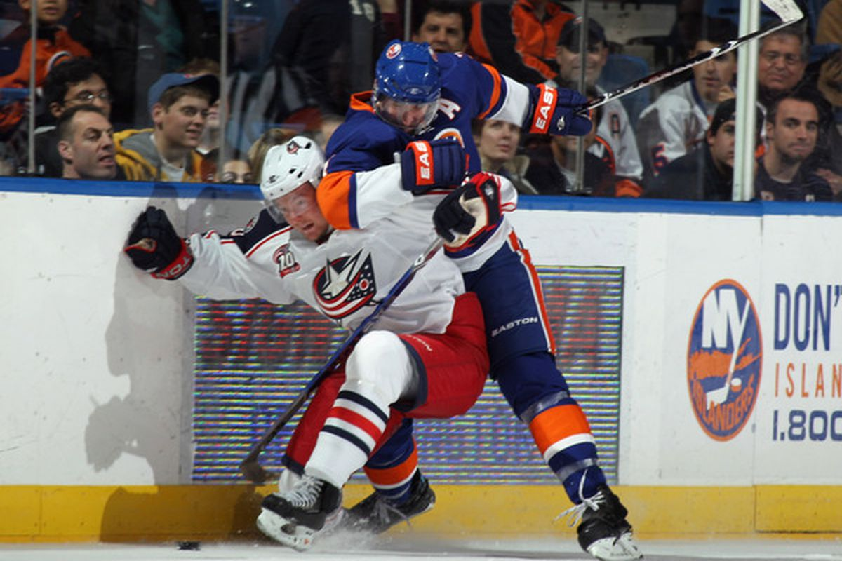 Who doesn't like a shot of Anton Stralman getting crushed?