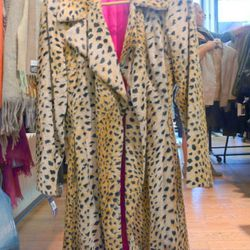 Trina Turk fur coat, $135