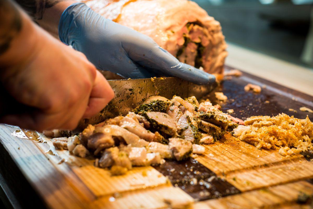 Porchetta at Meat and Bread.