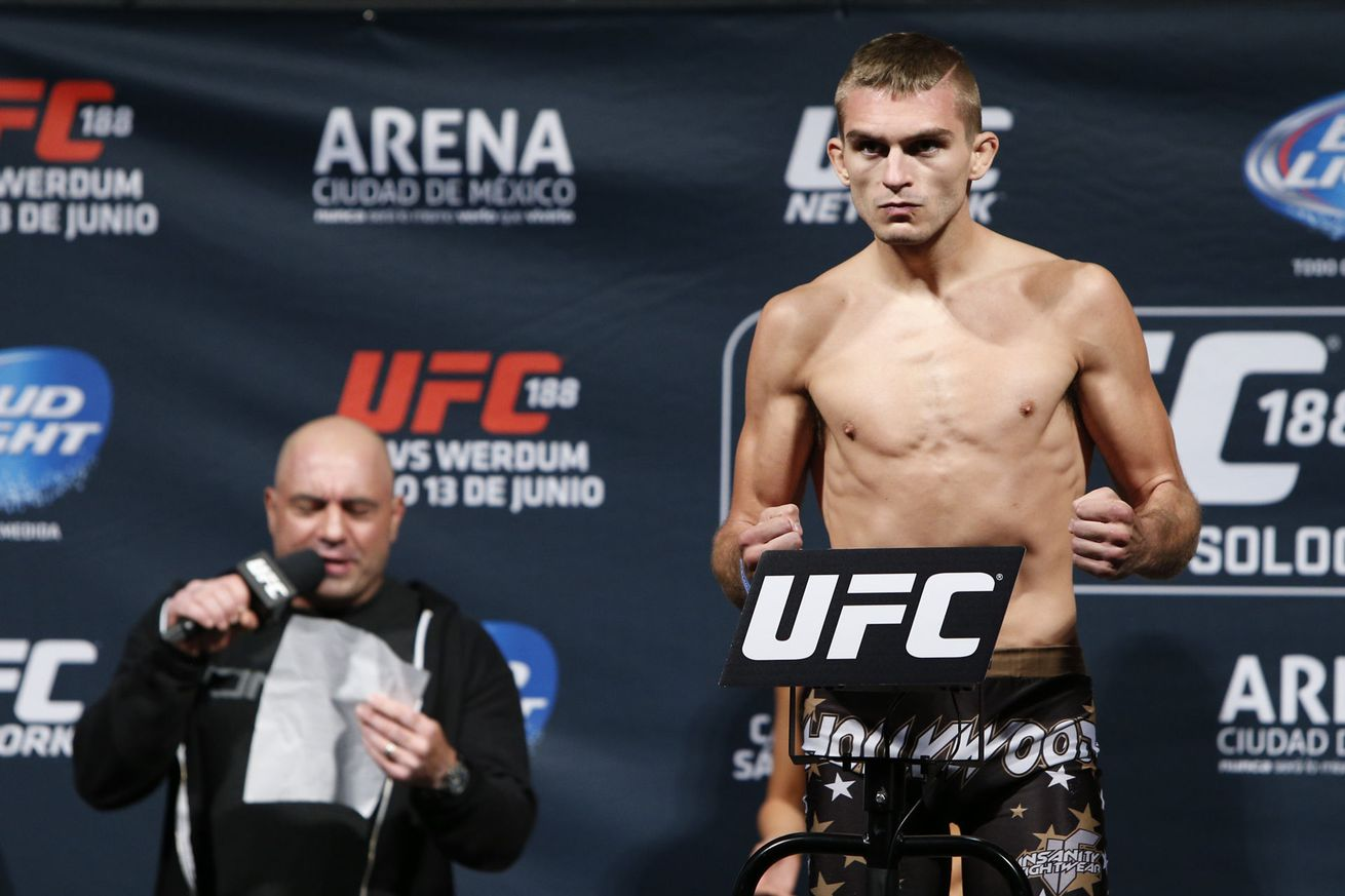 Johnny Case set to make his return against Tony Martin at UFC Fight Night 112 in OKC