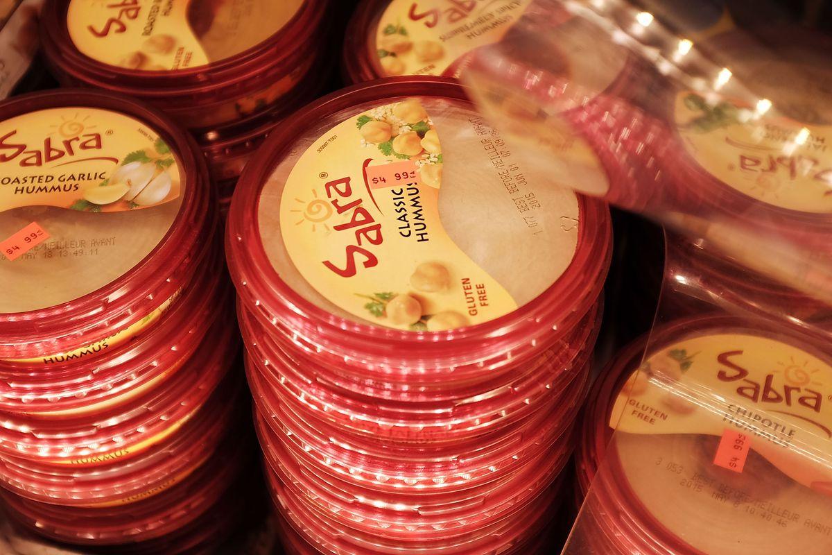 Sabra recalled 30,000 cases of hummus in spring 2015.