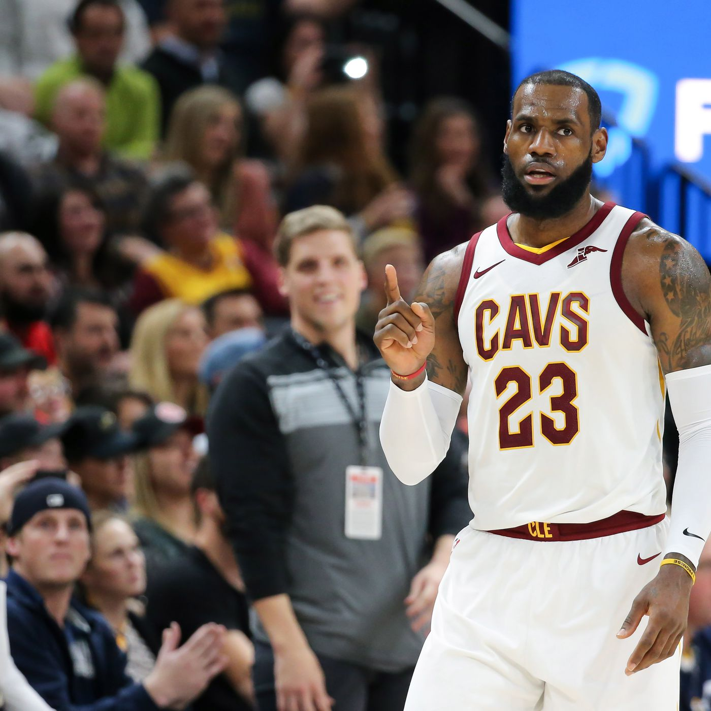 73a90d1e3 LeBron James named Eastern Conference Player of the Month for December