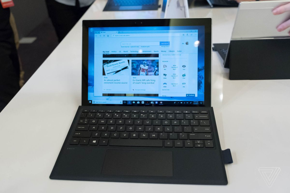 These are the first Windows 10 ARM laptops - The Verge