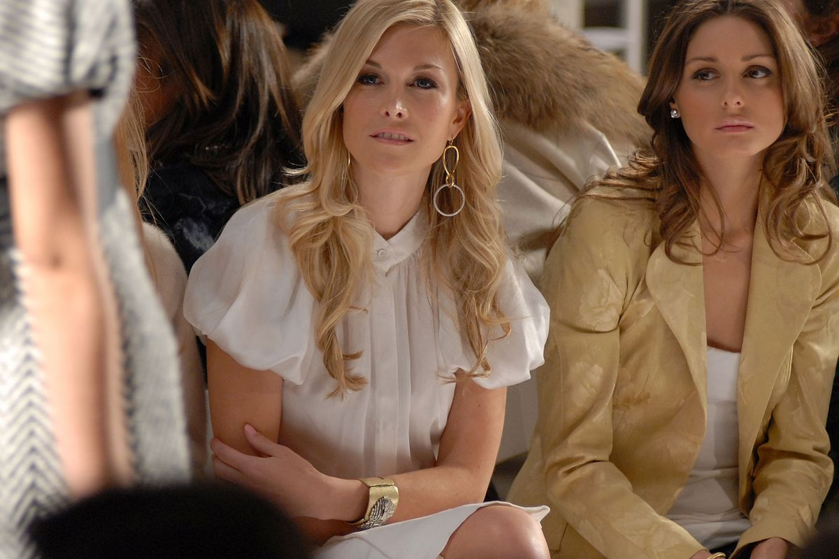 Tinsley Mortimer and Olivia Palermo in 2007. Photo; Getty Images.