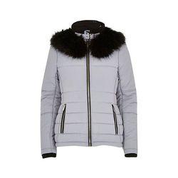 "<b>River Island</b>, <a href=""http://us.riverisland.com/women/coats--jackets/padded-jackets/Lilac-faux-fur-collar-padded-jacket-659601"">$130</a>"