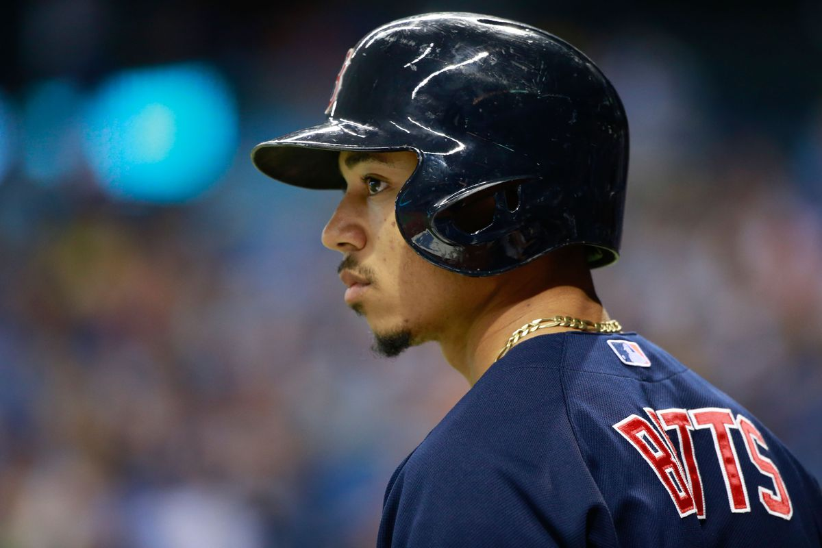 Mookie Betts: bold prediction saver, outfielder, top-3 second baseman (in Yahoo's crazy system)