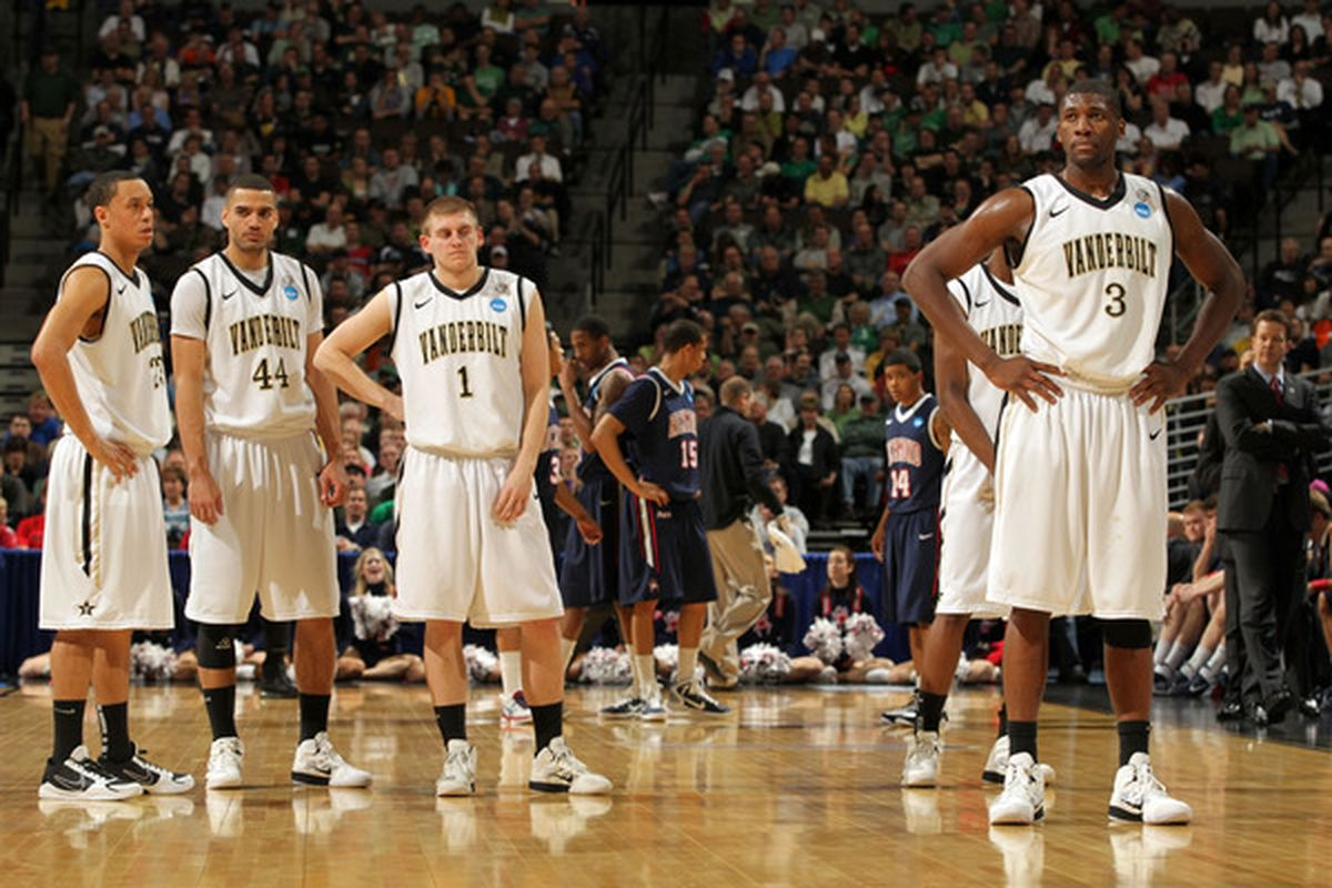 Jenkins, Taylor, and Ezeli appear to be returning to Vandy for 2012. (Photo by Doug Pensinger/Getty Images)