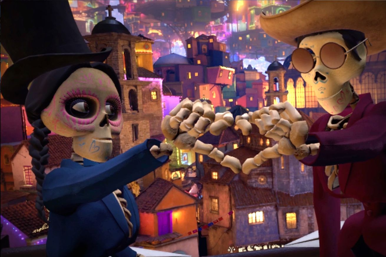 pixar s first vr project makes coco s land of the dead a cheerful playground