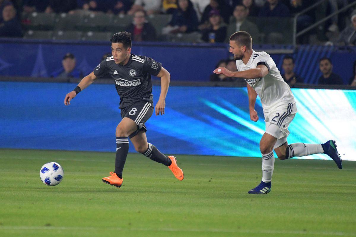 MLS: Atlanta United FC at Los Angeles Galaxy