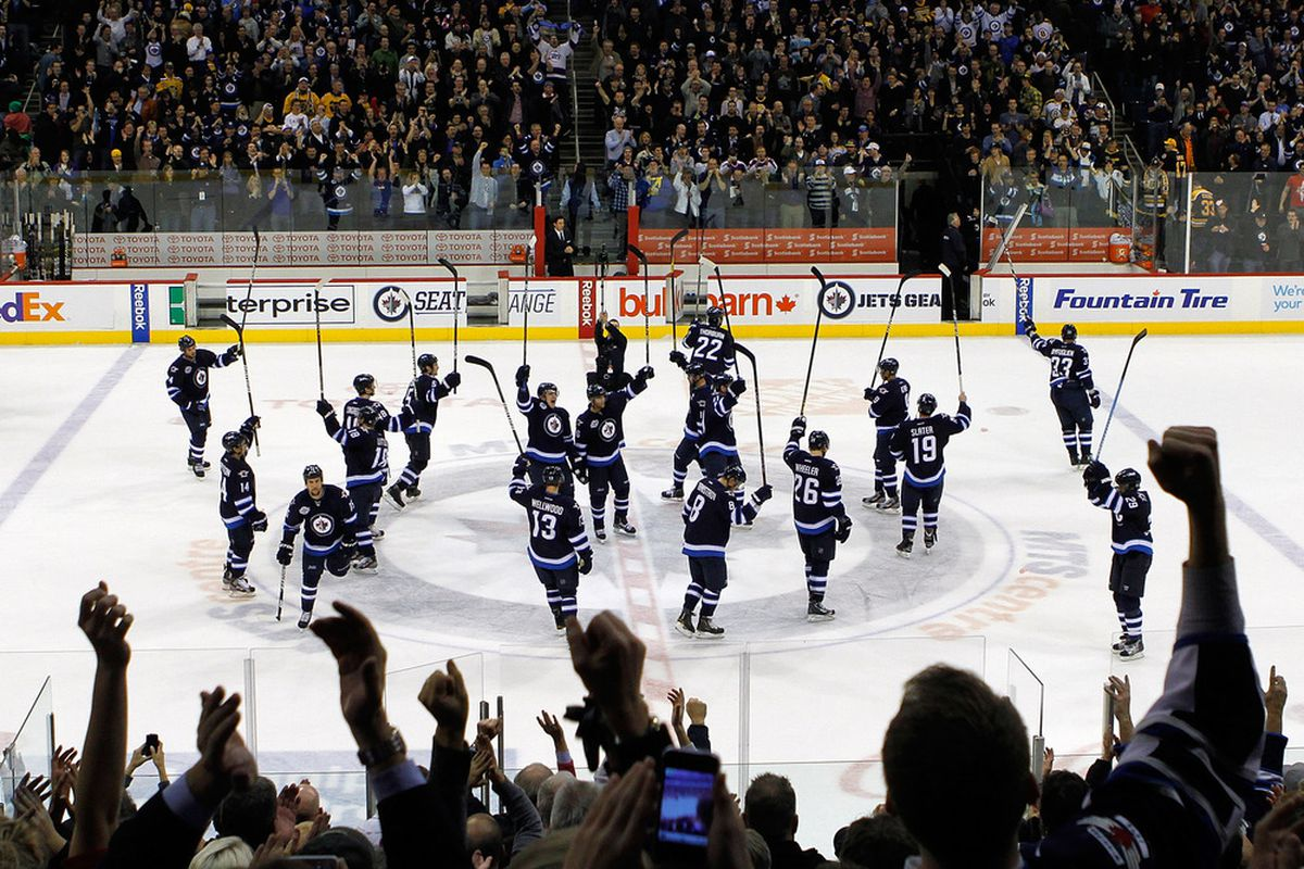 The Winnipeg Jets cite Nashville as the model for how they want to build their franchise, both on the ice and off.