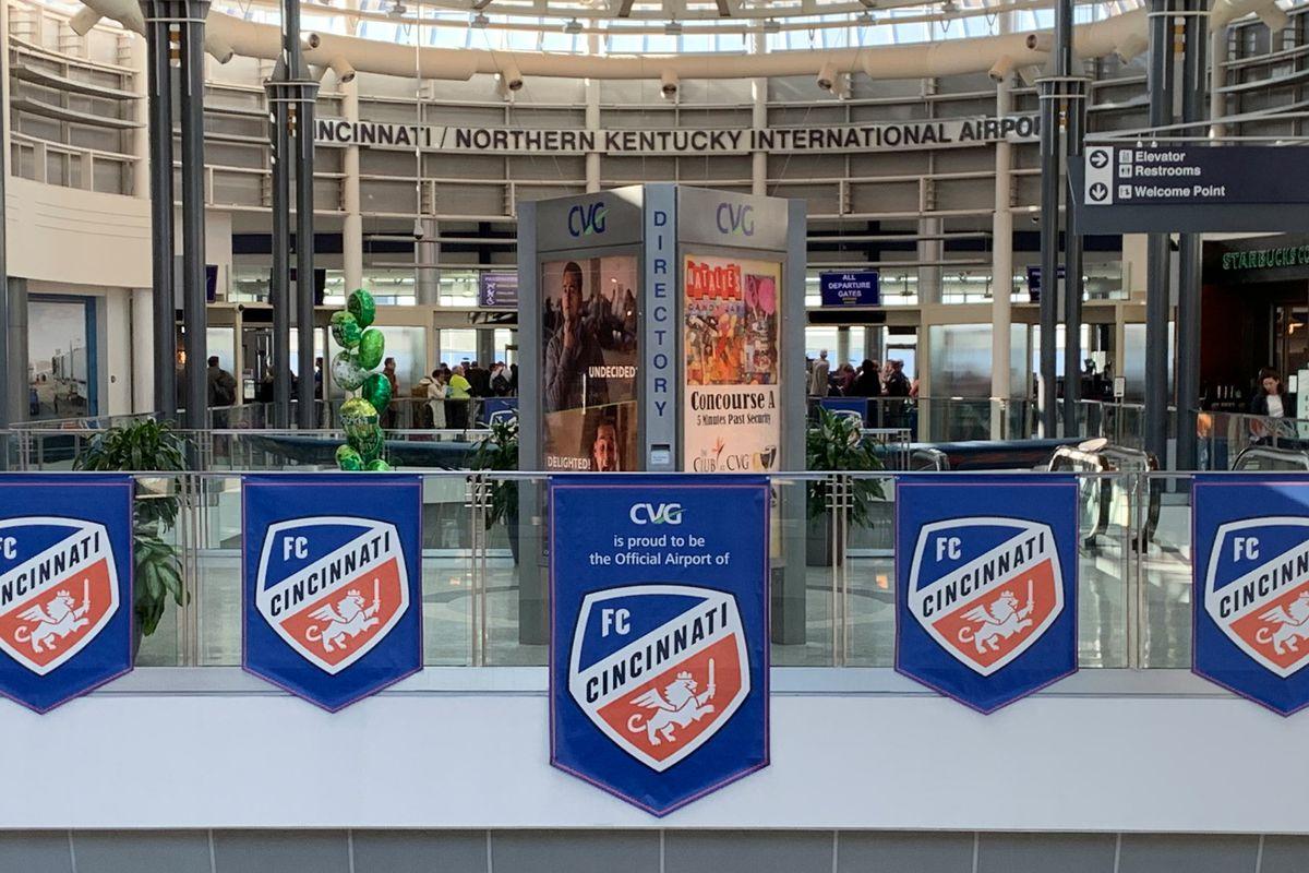 MLS: Cincinnati/Northern Kentucky International Airport Views