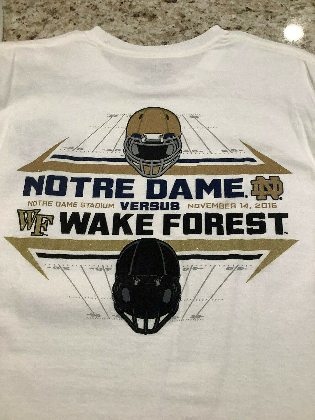 Notre Dame Football: Game Day Shirts Are Forever Corny ...