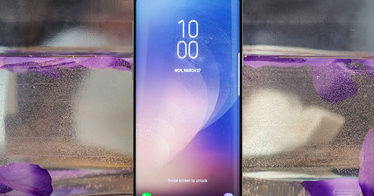 Fingerprint sensors under the display are going to be a real thing in 2018