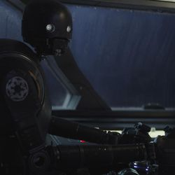 Rogue One: A Star Wars Story  K-2SO (Alan Tudyk)  Photo credit: Lucasfilm/ILM  ©2016 Lucasfilm Ltd. All Rights Reserved.