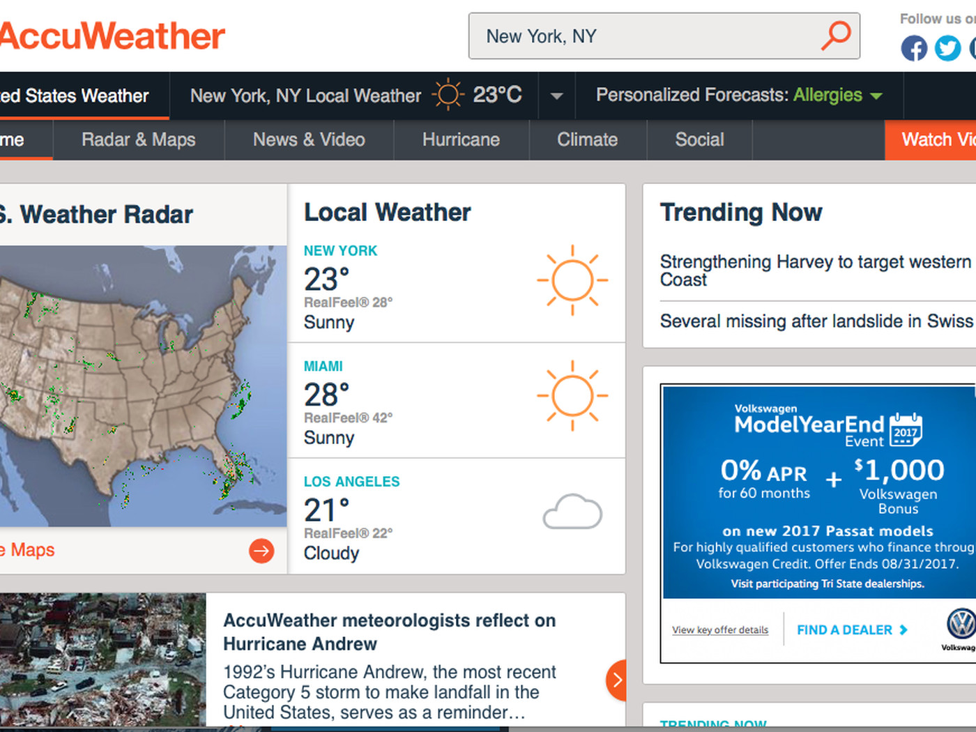 AccuWeather deflects blame after selling users' data, even if they