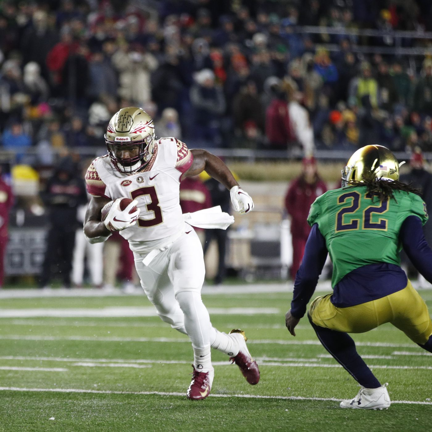 Advanced Analytics Florida State Seminoles Vs Notre Dame Preview Tomahawk Nation