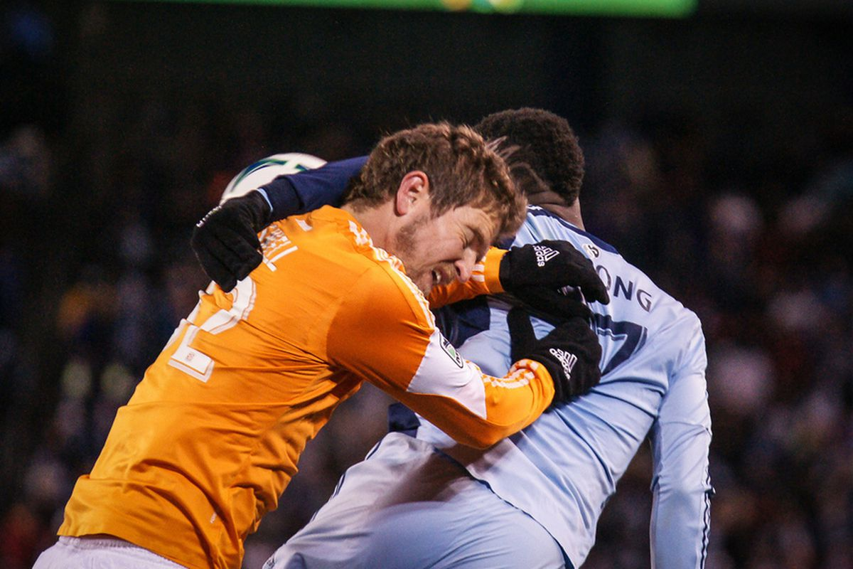 Sporting KC matches with Houston have been battles in the past