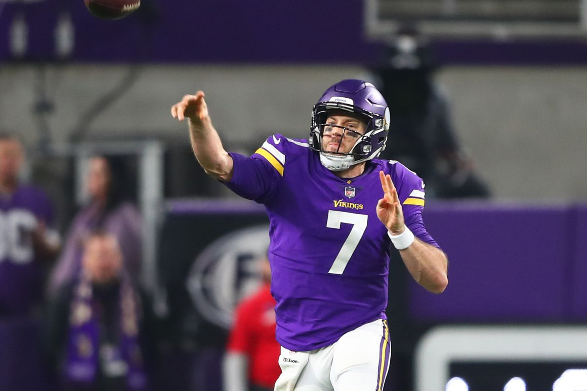 5645c9188 Quarterback Thunderdome 2018  What should the Vikings do with Case Keenum