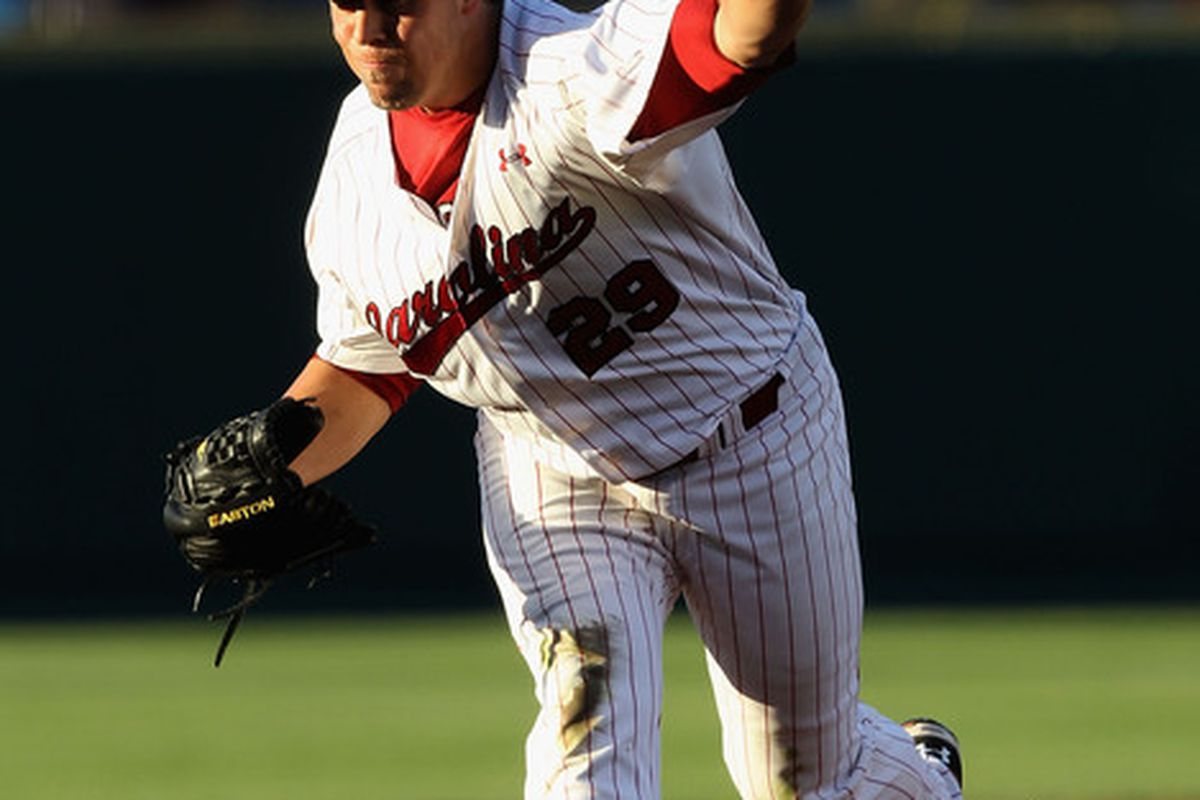 Michael Roth was, once again, brilliant in his start Friday night. The Gamecocks won that match 9-2.