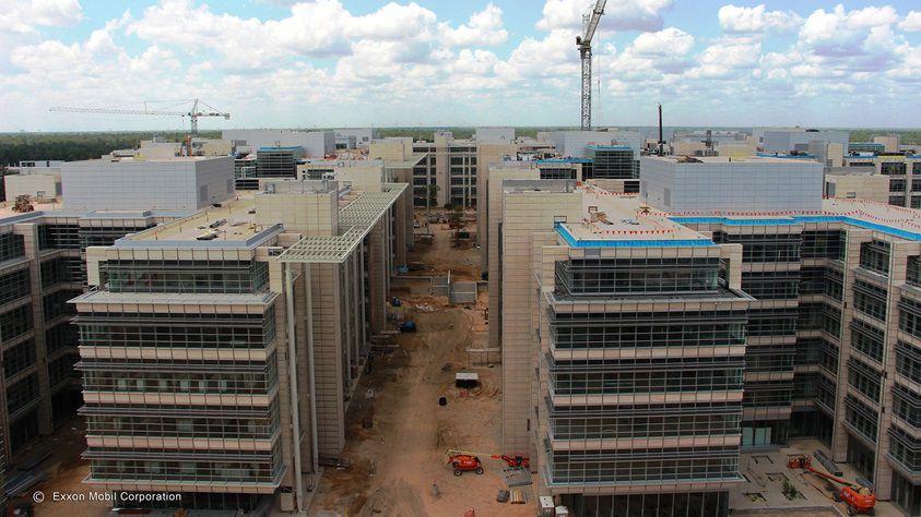 Exxon Mobil's sprawling new headquarters in Houston.