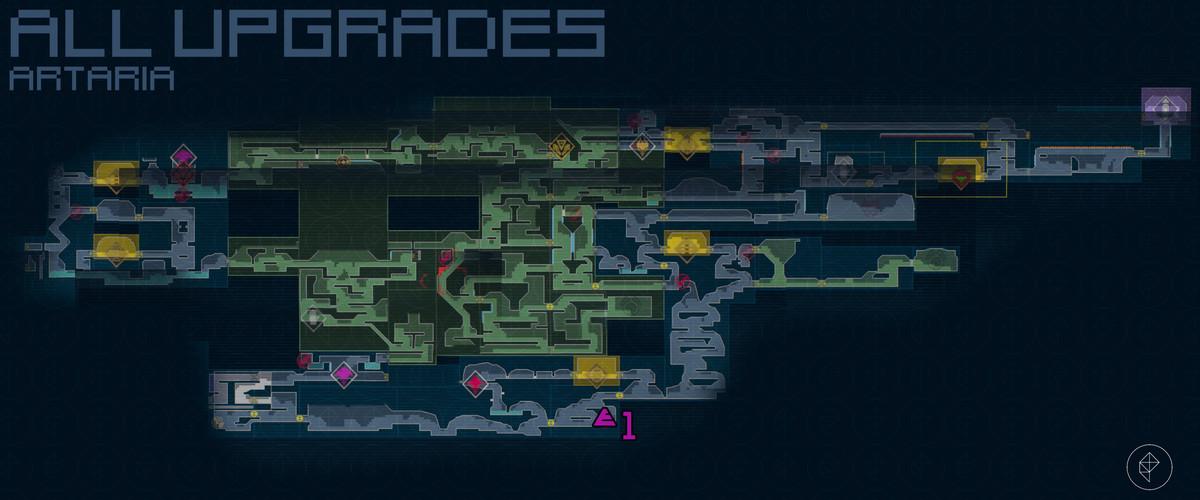 Metroid Dread All Artaria upgrades