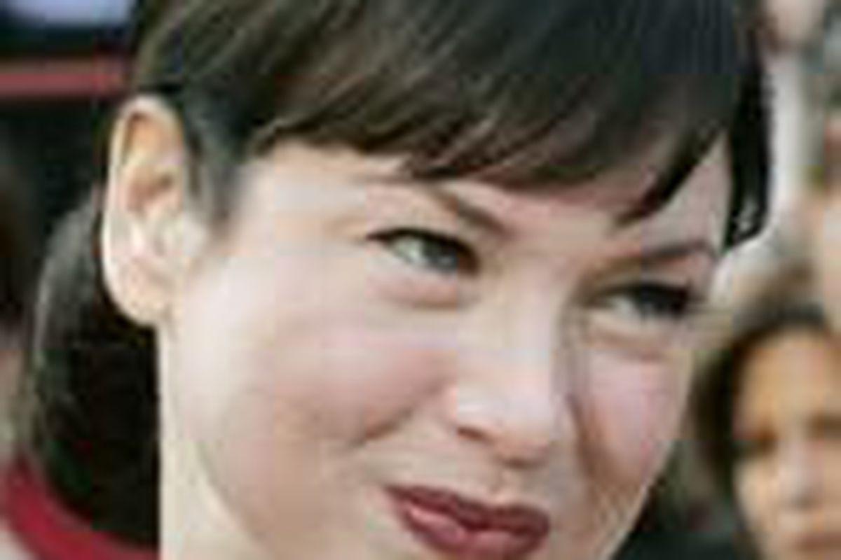 Renee Zellweger married in May.