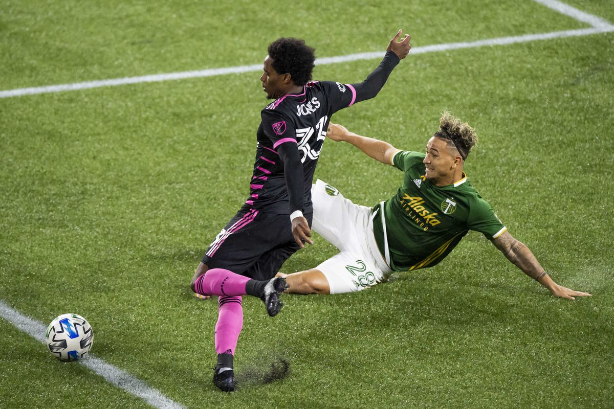 MLS: Seattle Sounders FC at Portland Timbers
