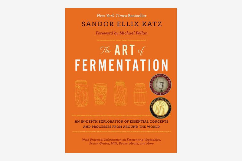 A book titled The Art of Fermentation