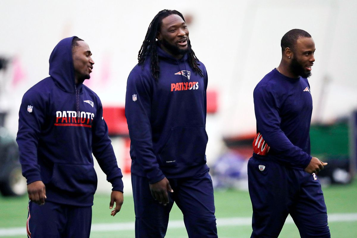 Lewis, Blount, and James White (APImages)