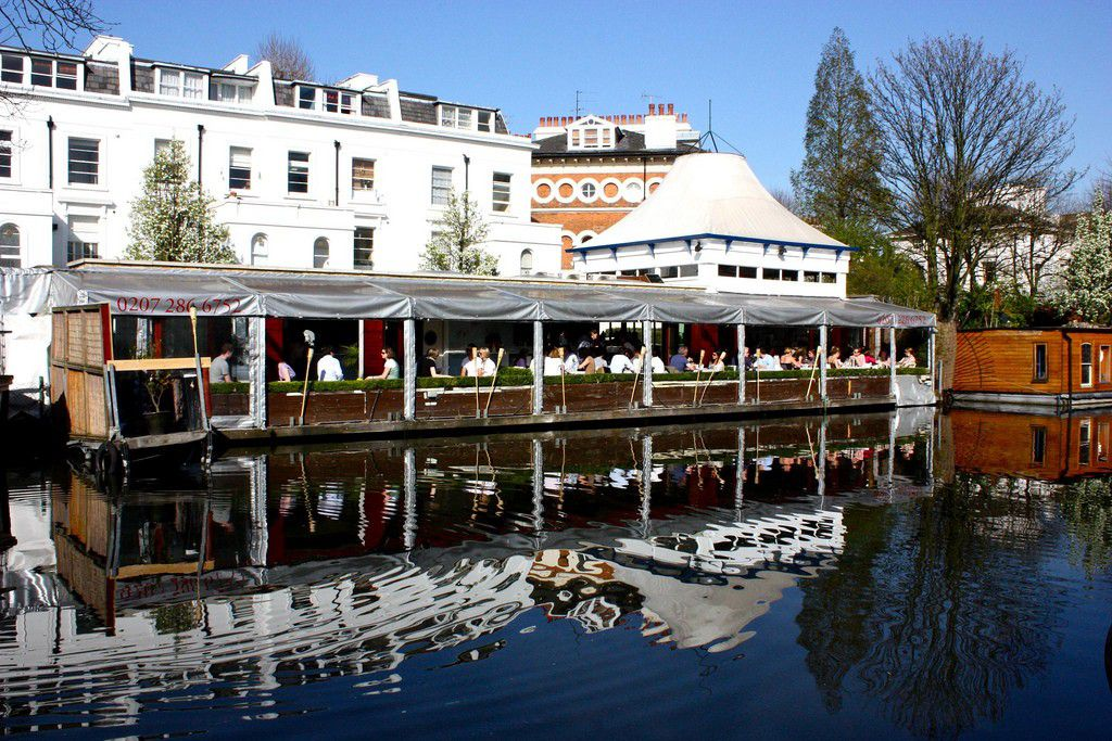 The Summerhouse in Little Venice, one of the best restaurants in Maida Vale and Queen's Park