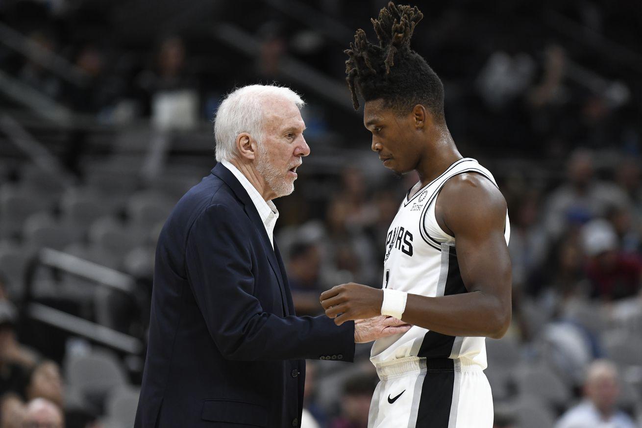 NBA: Preseason-Memphis Grizzlies at San Antonio Spurs