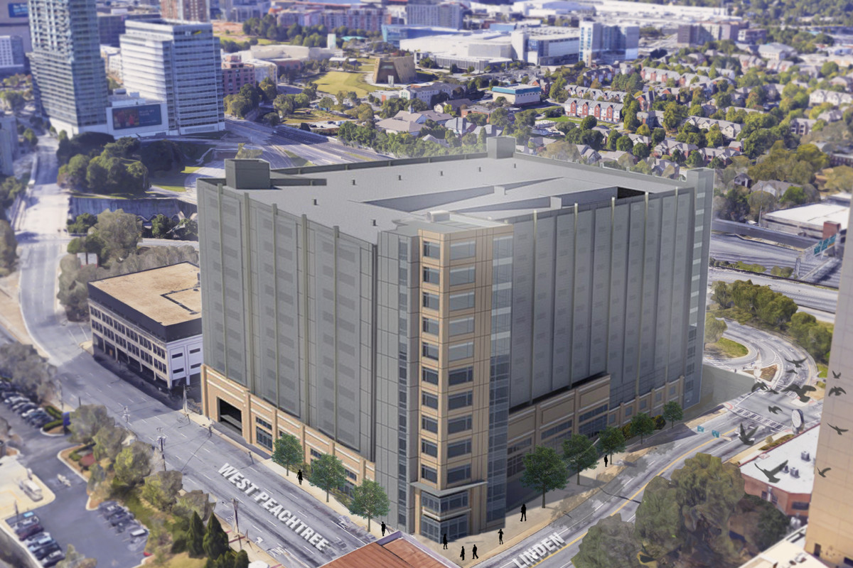 Emory midtown hospitals just demod parking deck could be replaced more than 3000 parking spaces could be coming to midtownfor emory employees only central atlanta progress publicscrutiny Images
