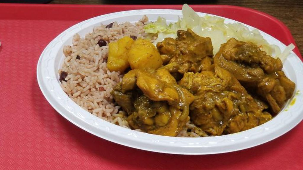 Curry chicken from Negril The Jamaican Eatery