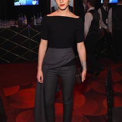 Emma attended the 2015 Time 100 gala wearing a demure all-black ensemble.