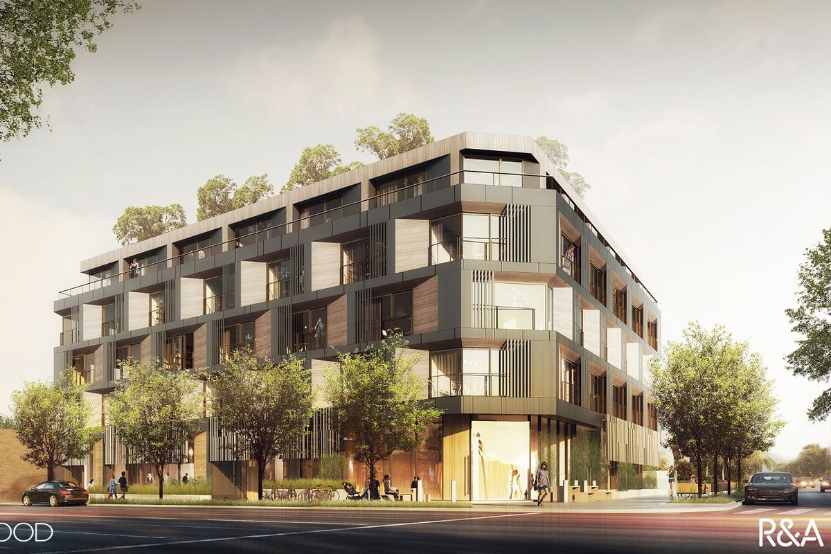 Five Story Apartment Project With Automated Parking On The Way To Sawtelle